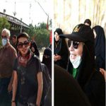 حضور بازیگران مشهور و هنرمندان سینما و تلویزیون در پیادهروی اربعین + تصاویر