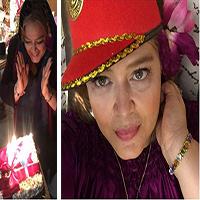 جشن تولد بهاره رهنما در کافه گوزن به همراه دوستان + تصاویر