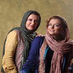 رویا تیموریان در کنار دخترانش درنا و دنیا + تصاویر