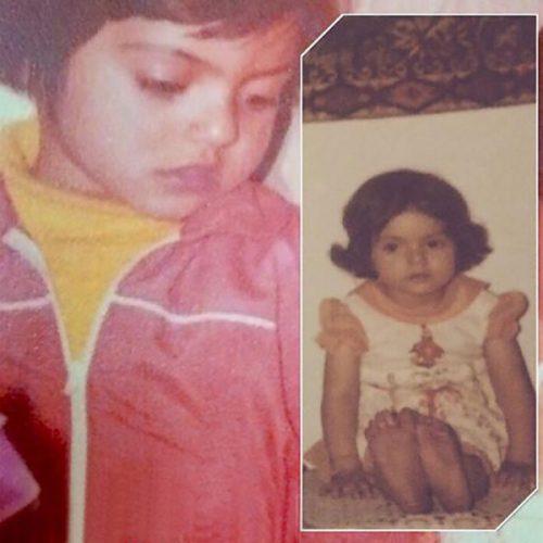 عکس دوران کودکی مهناز افشار