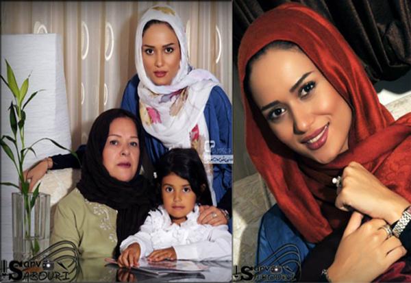 """بیوگرافی و عکس های """" پریناز ایزدیار """" و خانواده اش"""