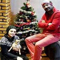 تصاویر بازیگران ایرانی در کریسمس ۲۰۱۷ + تصاویر