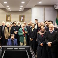 دیدار صمیمی هنرمندان مشهور با وزیر فرهنگ و ارشاد اسلامی + تصاویر