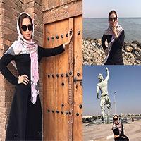 عکس های زیبای شبنم قلی خانی در بندر عباس