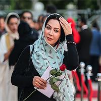 فقیهه سلطانی در دورهمی از عشق و ازدواج با همسر فوتبالیستش گفت + تصاویر
