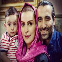نوشته عاشقانه همسر ماه چهره خلیلی برای جشن تولد همسرش + تصاویر