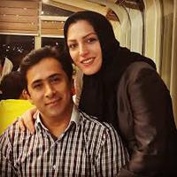 دلنوشته عاشقانه داوود عابدی برای همسرش المیرا شریفی مقدم + تصاویر