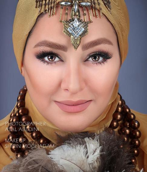الهام حمیدی بازیگر زن ایرانی