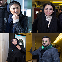 حواشی اولین روز سی و پنجمین جشنواره فیلم فجر با حضور بازیگران مشهور + تصاویر