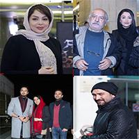 گزارش تصویری از حواشی و حضور چهره ها در روز دوم جشنواره فیلم فجر