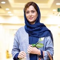 عکسهای پریناز ایزدیار در افتتاحیه سی و پنجمین جشنواره فیلم فجر