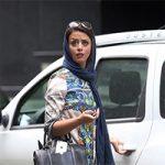 خسارت شرکت واحد به ماشین خانم بازیگر مشهور + تصاویر