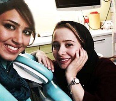 عکس های الناز حبیبی و دندانپزشکش