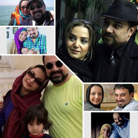تصاویر برزو ارجمند و همسرش