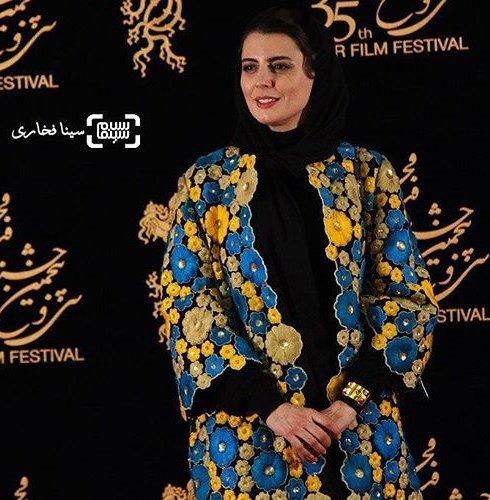 مدل مانتو لیلا حاتمی در جشنواره