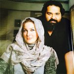 جشن تولد زیبای دختر رضا صادقی با حضور همسرش برگزار شد + تصاویر