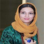 حدیث میرامینی و همسرش در نخستین روزهای ازدواجشان در کاخ جشنواره فجر +تصاویر