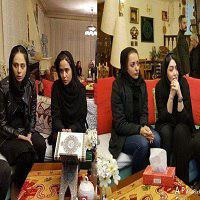 منزل علی معلم و حضور هنرمندان مشهور برای عرض تسلیت و همدردی با خانواده اش +تصاویر