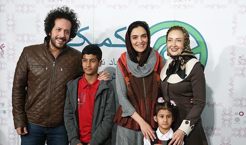سینا حجازی و همسرش میترا حجار