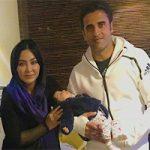 عکس های جدید فقیهه سلطانی به همراه همسر و دخترش گندم