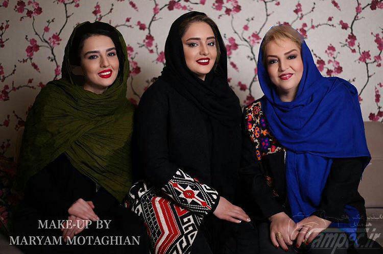 نرگس محمدی با تیپ جدید