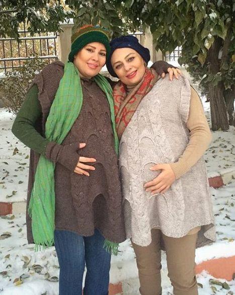 یکتا ناصر و خواهرش نیکتا