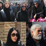 مراسم تشییع پیکر زندهیاد علی معلم با حضور هنرمندان مشهور برگزار شد +تصاویر