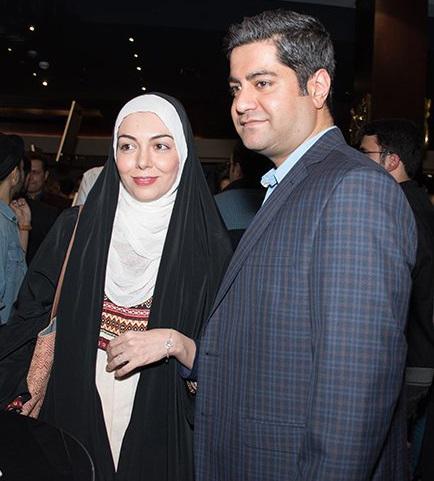 آزاده نامداری مجری ایرانی