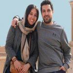 اشکان خطیبی در کنار همسرش آناهیتا درگاهی +تصاویر