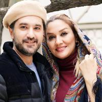 امیرحسین مدرس مجری ایرانی و عکس های دیدنی وی درکنار همسرش