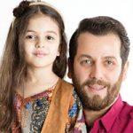 امیر رضا دلاوری بازیگر کشورمان و عکس های دیدنی با دخترش دیار