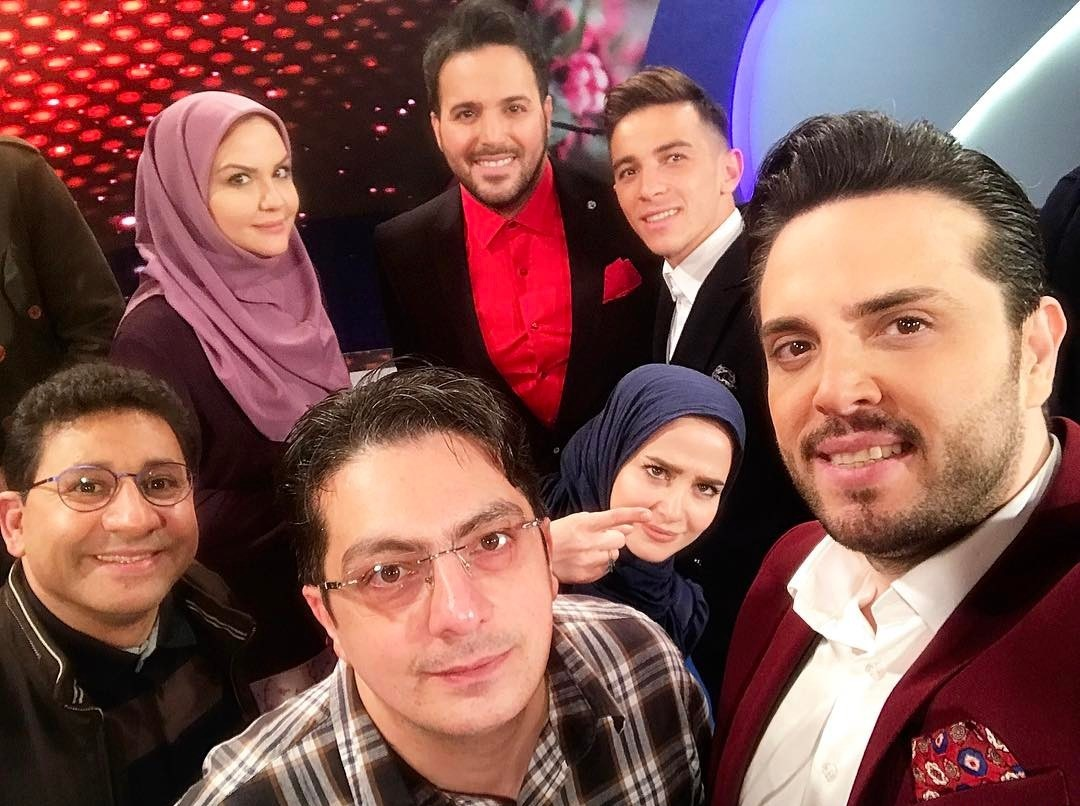 الناز حبیبی در برنامه بوی عیدی