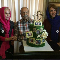 جشن تولد محمدعلی کشاورز با حضور بازیگران مشهور +تصاویر
