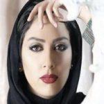 مونا فرجاد بازیگر کشورمان با گریم عجیب در نمایش هملت +تصاویر