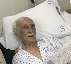 داریوش اسدزاده در بیمارستان و آخرین وضعیت سلامتی وی!
