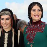سودابه بیضایی و نسیم ادبی در جشنواره فیلم کن 2017