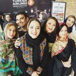 مسابقات گلف تهران با حضور بازیگران مشهور زن سینما+تصاویر