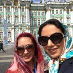 مونا فرجاد و شیرین بینا و گردش در مناطق مختلف روسیه!