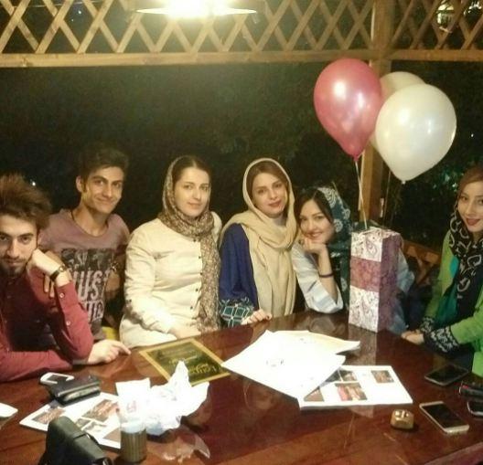 جشن تولد پرستو گلستانی