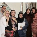 شراره رخام در مراسم سالروز افتتاح رستوران مورانو!
