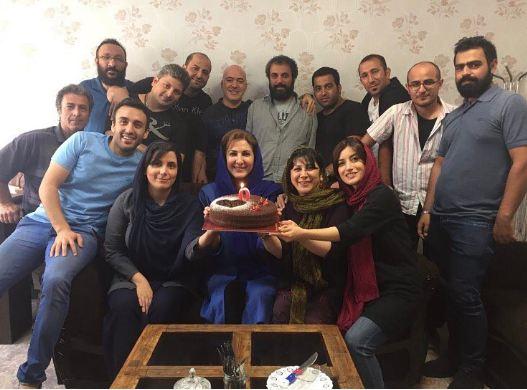 جشن تولد فاطمه گودرزی