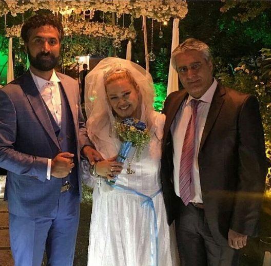 مراسم ازدواج مجدد بهاره رهنما
