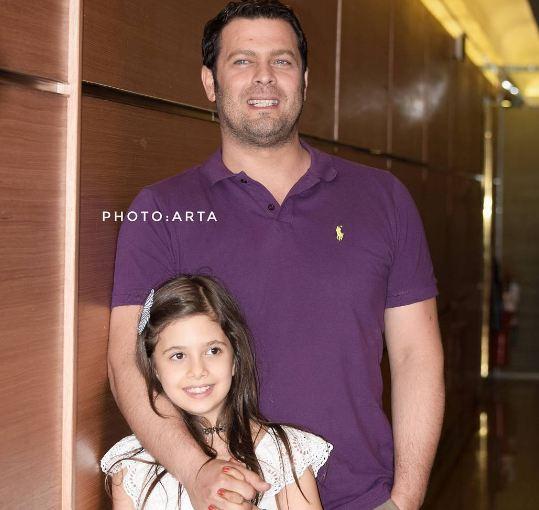 پژمان بازغی و همسرش مستانه مهاجر