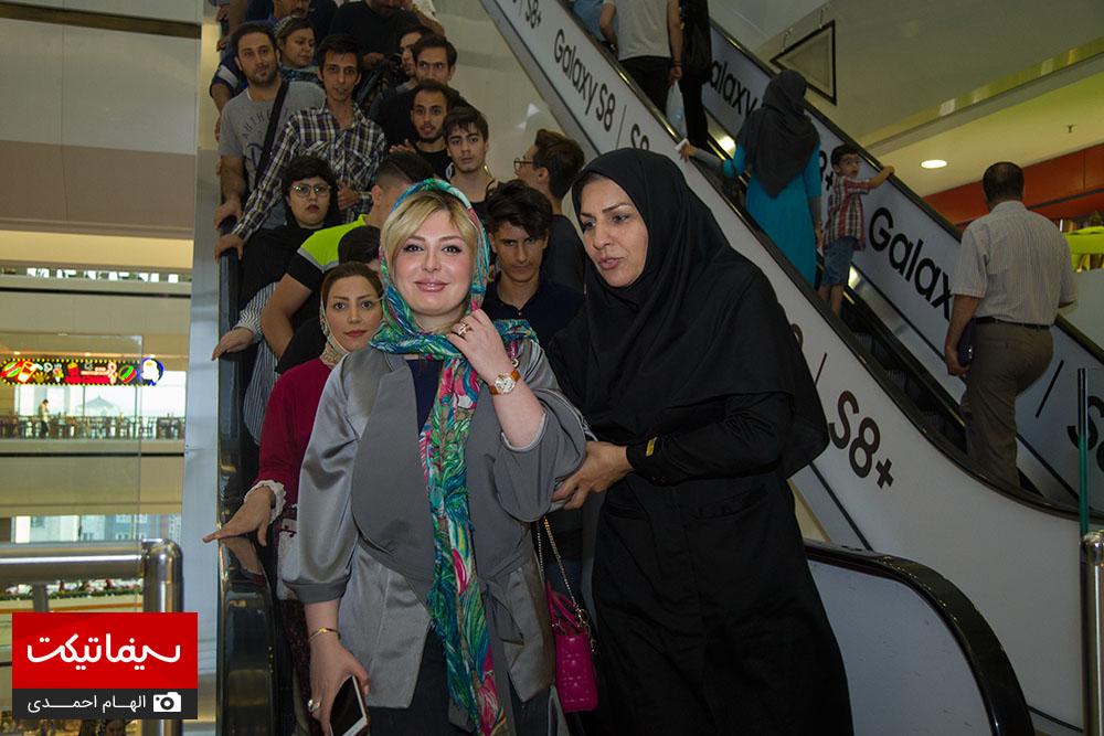 اکران اکسیدان با حضور هدیه تهرانی