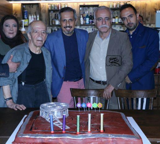 افتتاحیه گالرى کافه سید جواد رضویان