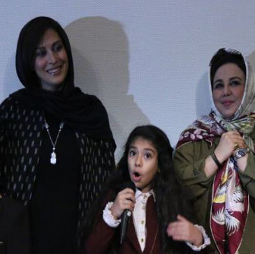 مراسم افتتاحیه فیلم سینمایی ماجان با حضور مهتاب کرامتی!