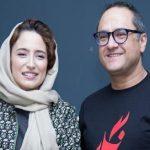 اولین اکران مردمی فیلم «نگار» با حضور رامبد جوان و همسرش!