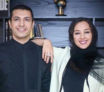 اکران فیلم سینمایی «زرد» با حضور اشکان خطیبی و همسرش!