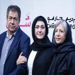 مراسم افتتاحیه فیلم سینمایی«شنل» با حضور سینماگران مشهور