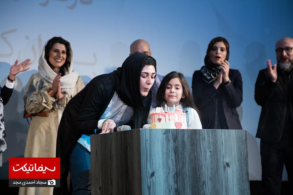 مراسم افتتاحیه فیلم سینمایی شنل